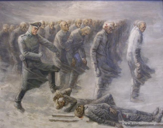 death-march-oil-painting