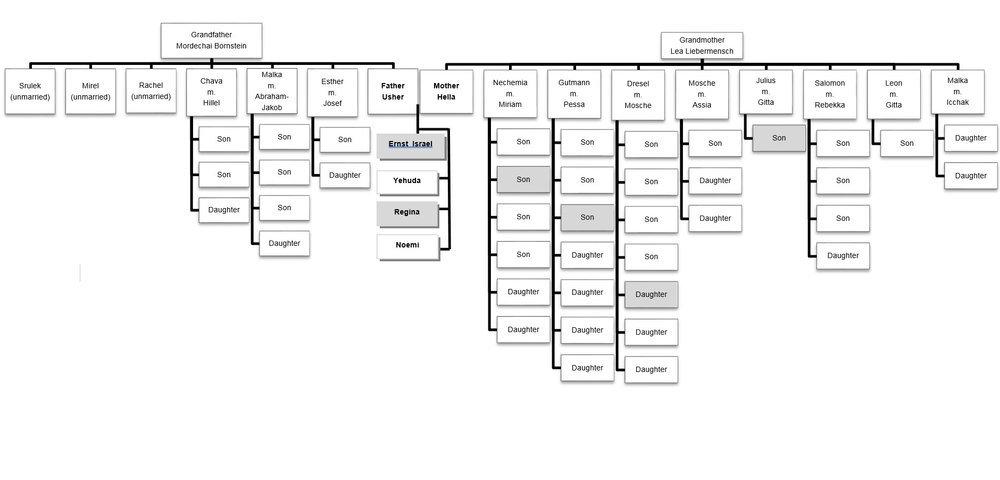 bornstein-family-tree