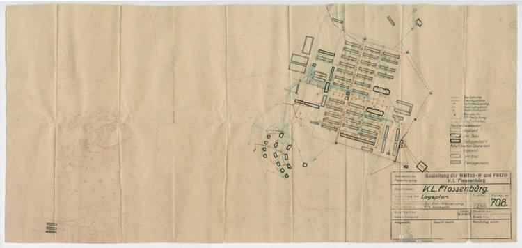 map-of-flossenburg-concentration-camp