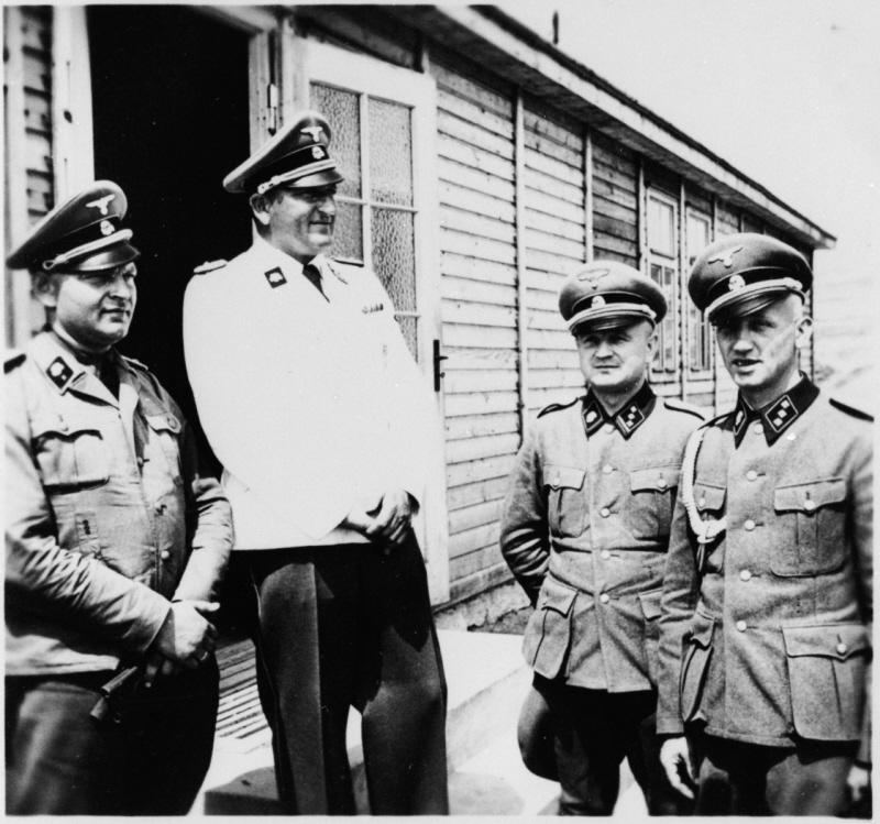 SS-Obersturmbannfuehrer Arthur Roedl the Commandant of Grossrosen [United States Holocaust Memorial Museum]