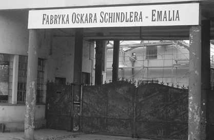 Schindler Factory Gate