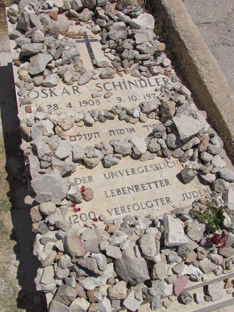 schindler-burial