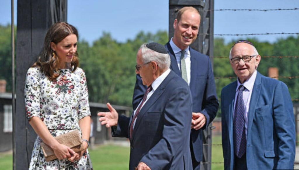 Prince William Holocaust visit